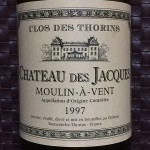CHATEAU DES JACQUES MOULIN-A-VENT 1997
