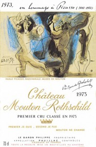 Chateau Mouton Rothschild 1973