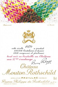 Chateau Mouton Rothschild 1979